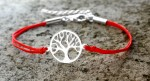 Silver bracelet Tree of happiness- big