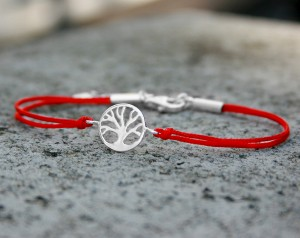 Silver bracelet Tree of happiness- small